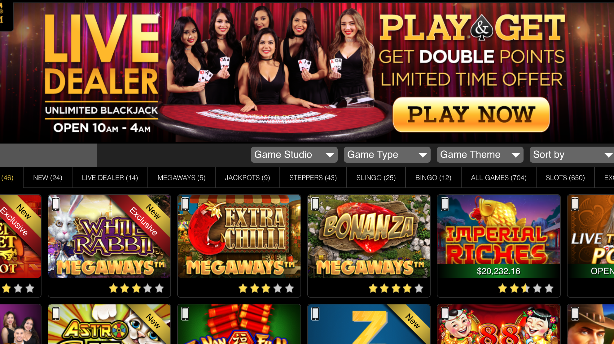 Golden Nugget Online Casino Offers 20% Cashback on Live Dealer Games